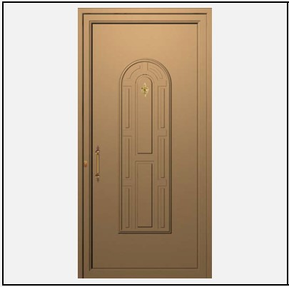 Πόρτα Εισόδου Αλουμινίου 53690