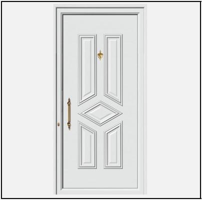 Πόρτα Εισόδου Αλουμινίου 53695