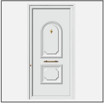 Πόρτα Εισόδου Αλουμινίου 53700