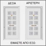 ΦΟΡΑ ΠΟΡΤΑΣ ΕΙΣΟΔΟΥ 52109