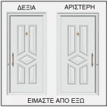 ΦΟΡΑ ΠΟΡΤΑΣ ΕΙΣΟΔΟΥ 53695