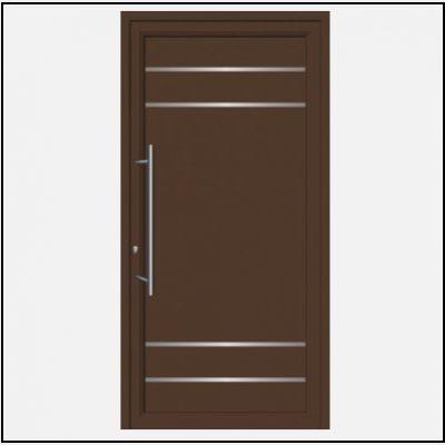 Πόρτα Εισόδου Αλουμινίου 54100