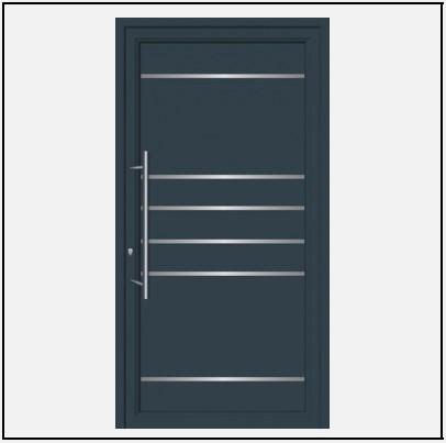 Πόρτα Εισόδου Αλουμινίου 54101