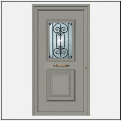 Πόρτα Εισόδου Αλουμινίου 55035