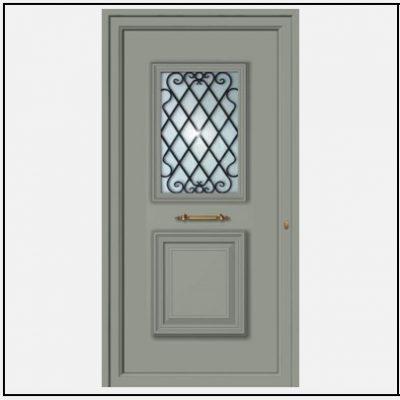 Πόρτα Εισόδου Αλουμινίου 55036