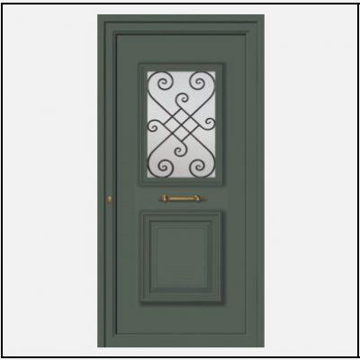 Πόρτα Εισόδου Αλουμινίου 55041
