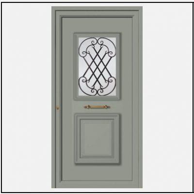 Πόρτα Εισόδου Αλουμινίου 55043