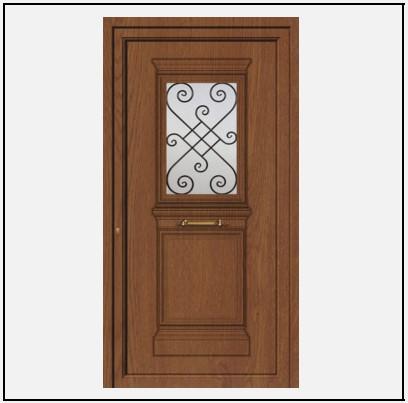 Πόρτα Εισόδου Αλουμινίου 55049