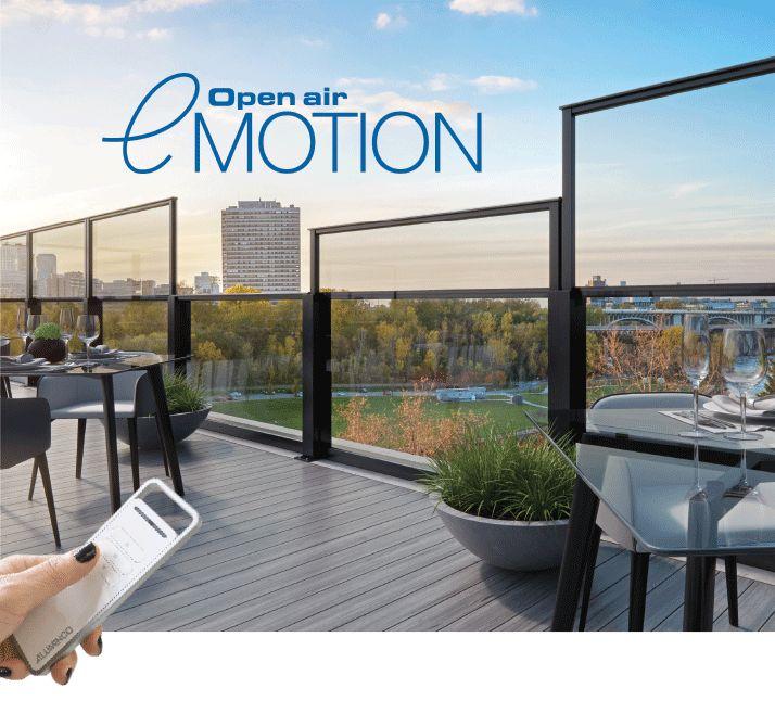 ALUMINCO: Εντυπωσιάζει η νέα ηλεκτροκίνητη έκδοση του Open Air, eMOTION!