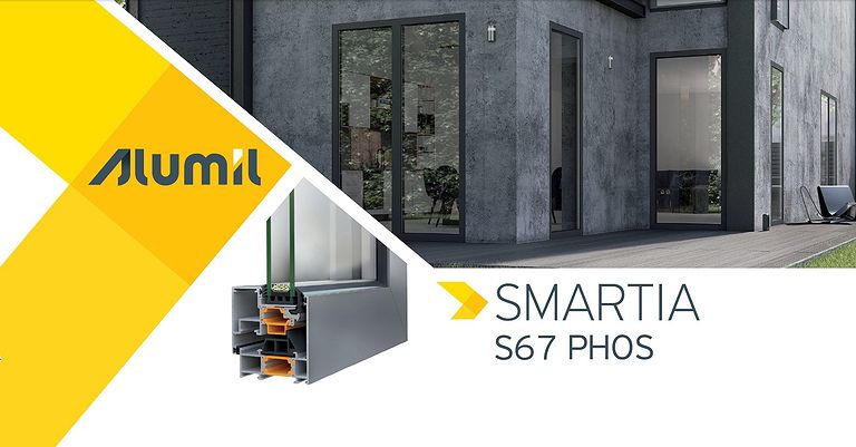 ALUMIL SMARTIA S67 PHOS: Το καινοτόμο minimal ανοιγόμενο κορυφαίας αισθητικής!
