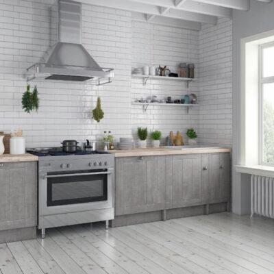 Σύνθεση Κουζίνας industrial στυλ