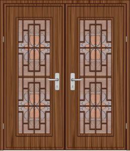 Πόρτες Εισόδου με Πάνελ