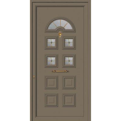 62008 Πόρτες εισόδου πρεσαριστές exal από αλουμίνιο