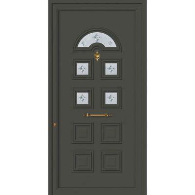 62025 Πόρτες εισόδου πρεσαριστές exal από αλουμίνιο