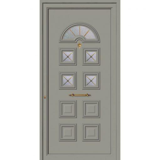 62032 Πόρτες εισόδου πρεσαριστές exal από αλουμίνιο