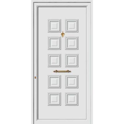 62101 Πόρτες εισόδου πρεσαριστές exal από αλουμίνιο
