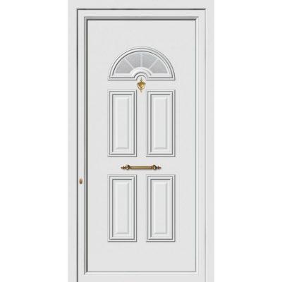 62202 Πόρτες εισόδου πρεσαριστές exal από αλουμίνιο