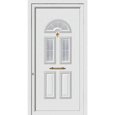62203 Πόρτες εισόδου πρεσαριστές exal από αλουμίνιο