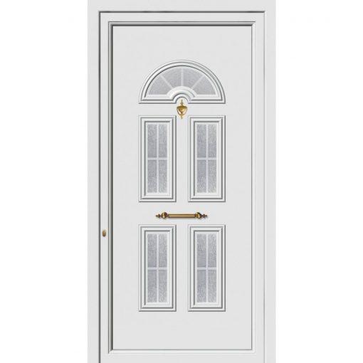 62204 Πόρτες εισόδου πρεσαριστές exal από αλουμίνιο