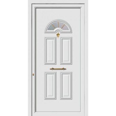 62205 Πόρτες εισόδου πρεσαριστές exal από αλουμίνιο
