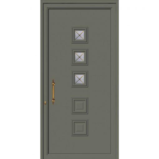 63391 Πόρτες εισόδου πρεσαριστές exal για μονοκατοικίες