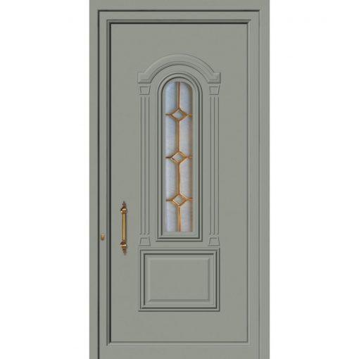 63512 Πόρτες εισόδου πρεσαριστές exal για μονοκατοικίες