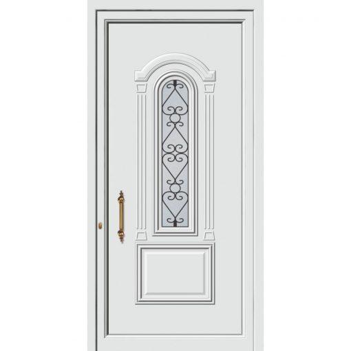 63513 Πόρτες εισόδου πρεσαριστές και ενεργειακές από την exal για μονοκατοικίες
