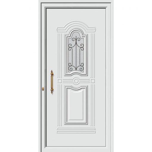 63522 Πόρτες εισόδου πρεσαριστές και ενεργειακές από την exal για μονοκατοικίες