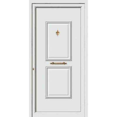 63530 Πόρτες εισόδου πρεσαριστές και ενεργειακές από την exal για μονοκατοικίες