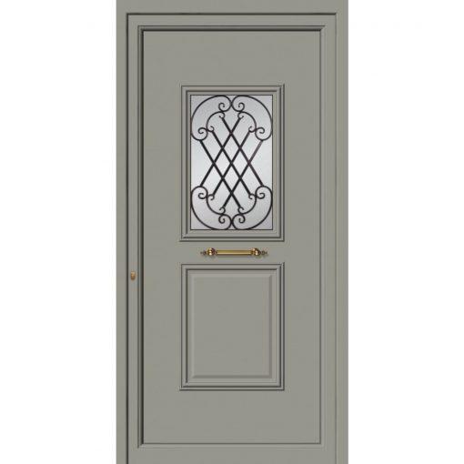 63531 Πόρτες εισόδου πρεσαριστές και ενεργειακές από την exal για μονοκατοικίες