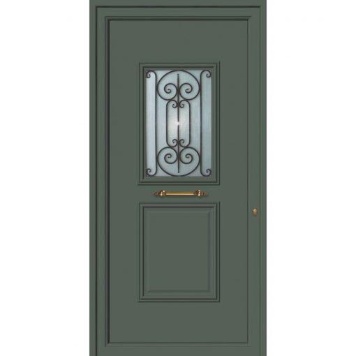 63533 Πόρτες εισόδου πρεσαριστές και ενεργειακές από την exal για μονοκατοικίες