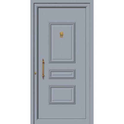63540 Πόρτες εισόδου πρεσαριστές και ενεργειακές από την exal για μονοκατοικίες