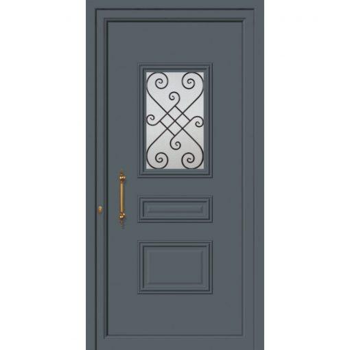 63542 Πόρτες εισόδου πρεσαριστές και ενεργειακές από την exal για μονοκατοικίες