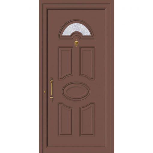 63681 Πόρτες εισόδου πρεσαριστές exal για πολυκατοικίες