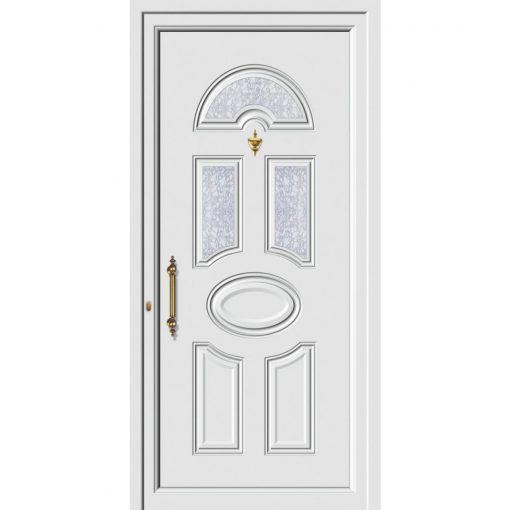 63682 Πόρτες εισόδου πρεσαριστές exal για πολυκατοικίες