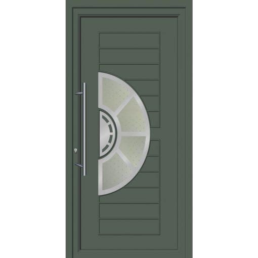 64256 Πόρτες εισόδου με επένδυση Inox ενεργειακές