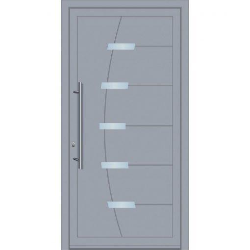 64610 Πόρτες εισόδου πρεσαριστές από αλουμίνιο exal