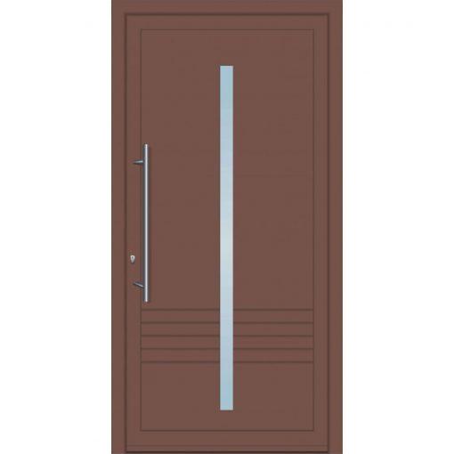 64620 Πόρτες εισόδου πρεσαριστές από αλουμίνιο exal