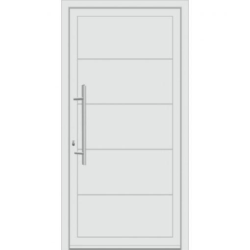 64650 Πόρτες εισόδου πρεσαριστές από αλουμίνιο exal για πολυκατοικίες