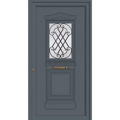 65002 Πόρτες εισόδου εξωτερικές από αλουμίνιο ενεργειακές