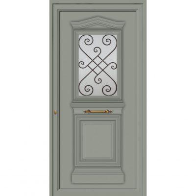 65004 Πόρτες από αλουμίνιο παραδοσιακές για είσοδο