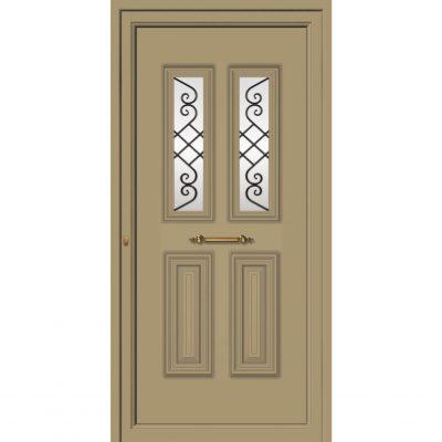65021 Πόρτες από αλουμίνιο παραδοσιακές ενεργειακές