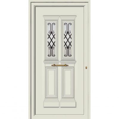 65026 Πόρτες εισόδου ενεργειακές παραδοσιακές για πολυκατοικία