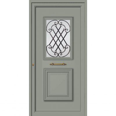65043 Πόρτες εισόδου εξωτερικές αλουμινίου ενεργειακές