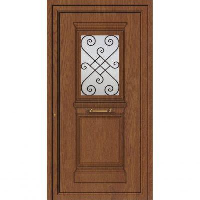 65049 Πόρτες εισόδου από αλουμίνιο παραδοσιακές ενεργειακές
