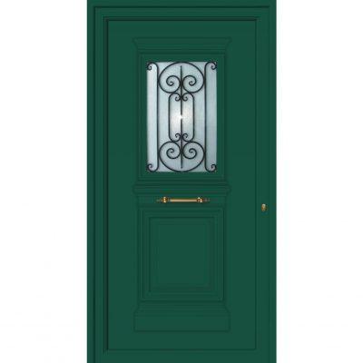 65054 Πόρτες εισόδου από αλουμίνιο παραδοσιακές ενεργειακές