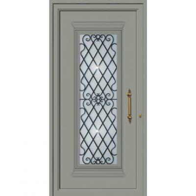 Πόρτες εισόδου μονοκατοικίας παραδοσικές 65122