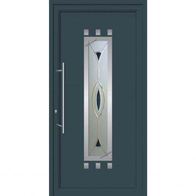 67044 Πόρτες εισόδου από αλουμίνιο ενεργειακές σε ποικιλία χρωμάτων