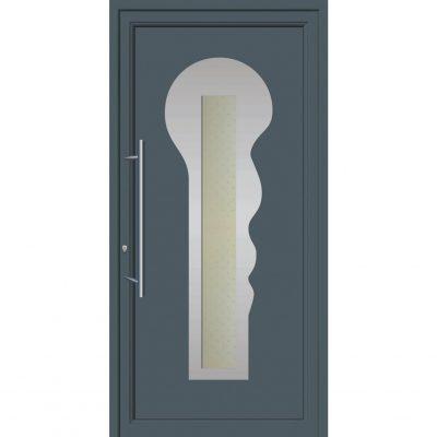 67072 Πόρτες εξωτερικές αλουμινίου ενεργειακές για πολυκατοικίες