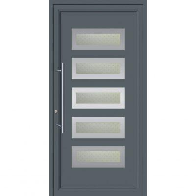 67081 Πόρτες εξωτερικές αλουμινίου ενεργειακές για πολυκατοικίες